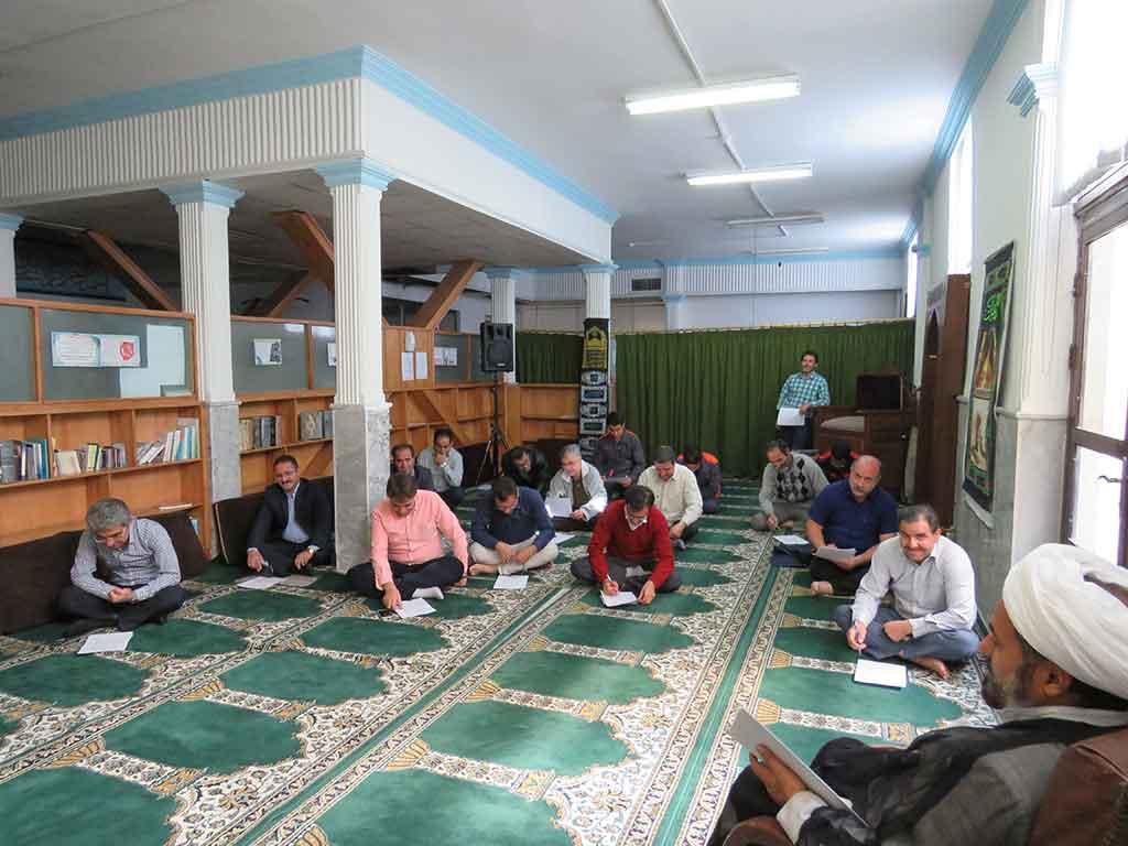 امتحان آموزش عقیدتی مؤسسه رازی مشهد