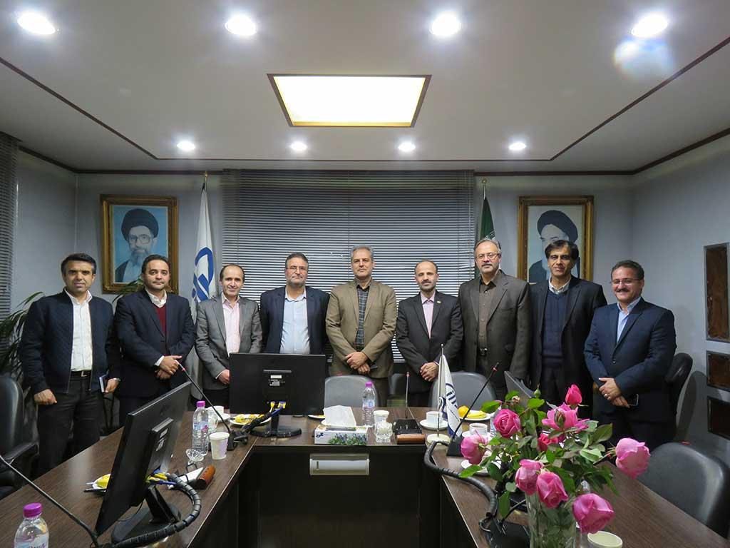 بازدید ریاست مؤسسه رازی از شعبه مشهد